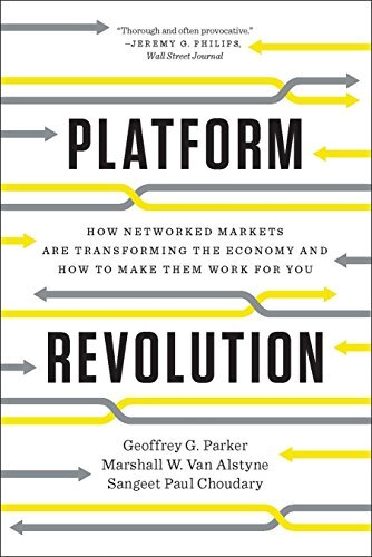 Book cover - Platform Revolution