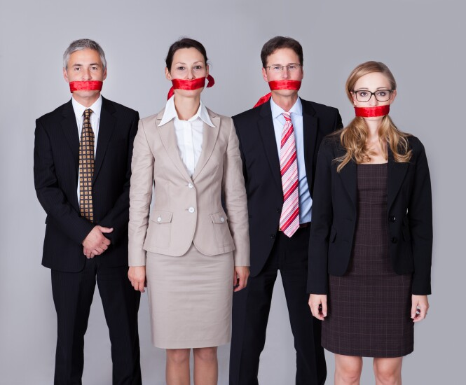 Silenced-red-tape