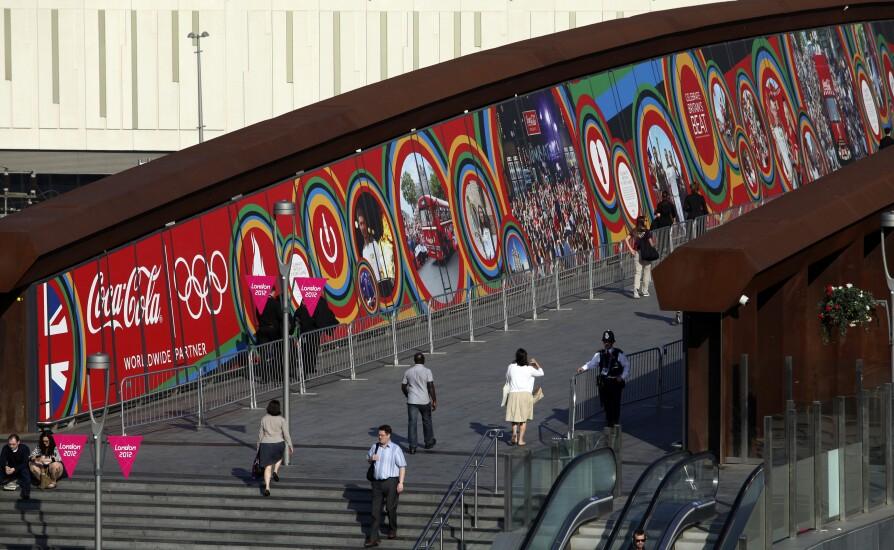 Coca Cola 2012 Olympics advert