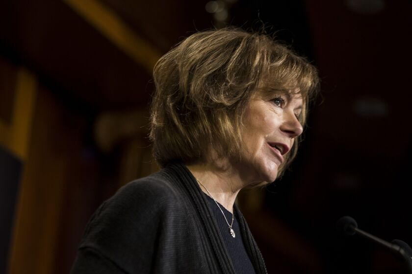 """Too often, Black, Brown and Indigenous people in Minnesota and across the country experience discrimination or mistreatment when interacting with financial institutions,"" said Sen. Tina Smith, D-Minn."