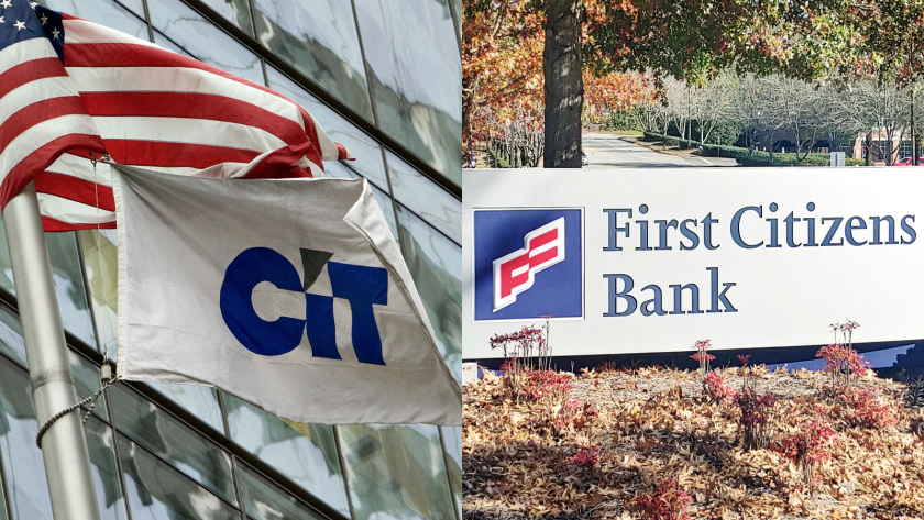 The merger of CIT and First Citizens would create a top-20 bank, with about $110 billion of assets.