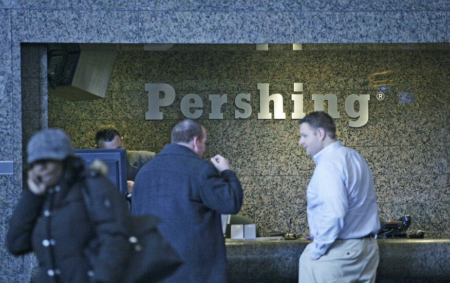 Pershing's new ETF platform is only available to its clients.
