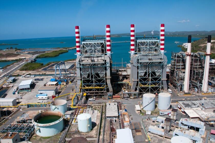 PREPA power plant at Guayanilla