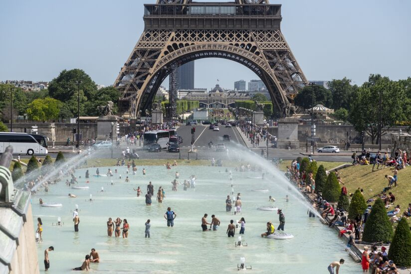 Record Breaking Heatwave Scorches Europe