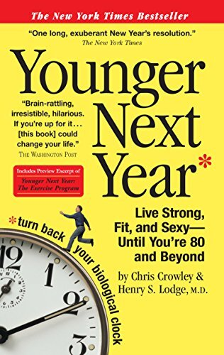 Book cover - Younger Next Year