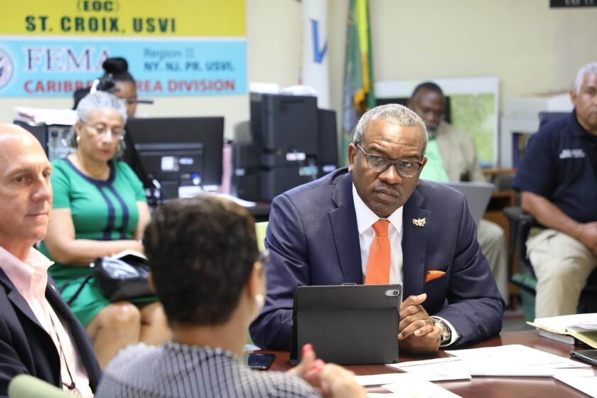 Virgin Islands Governor Albert Bryan