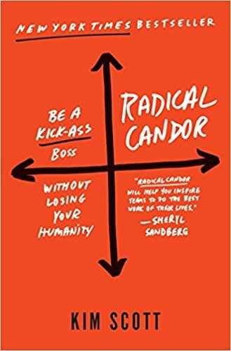 Book cover - Radical Candor