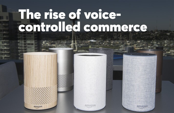 The rise of voice-controlled commerce