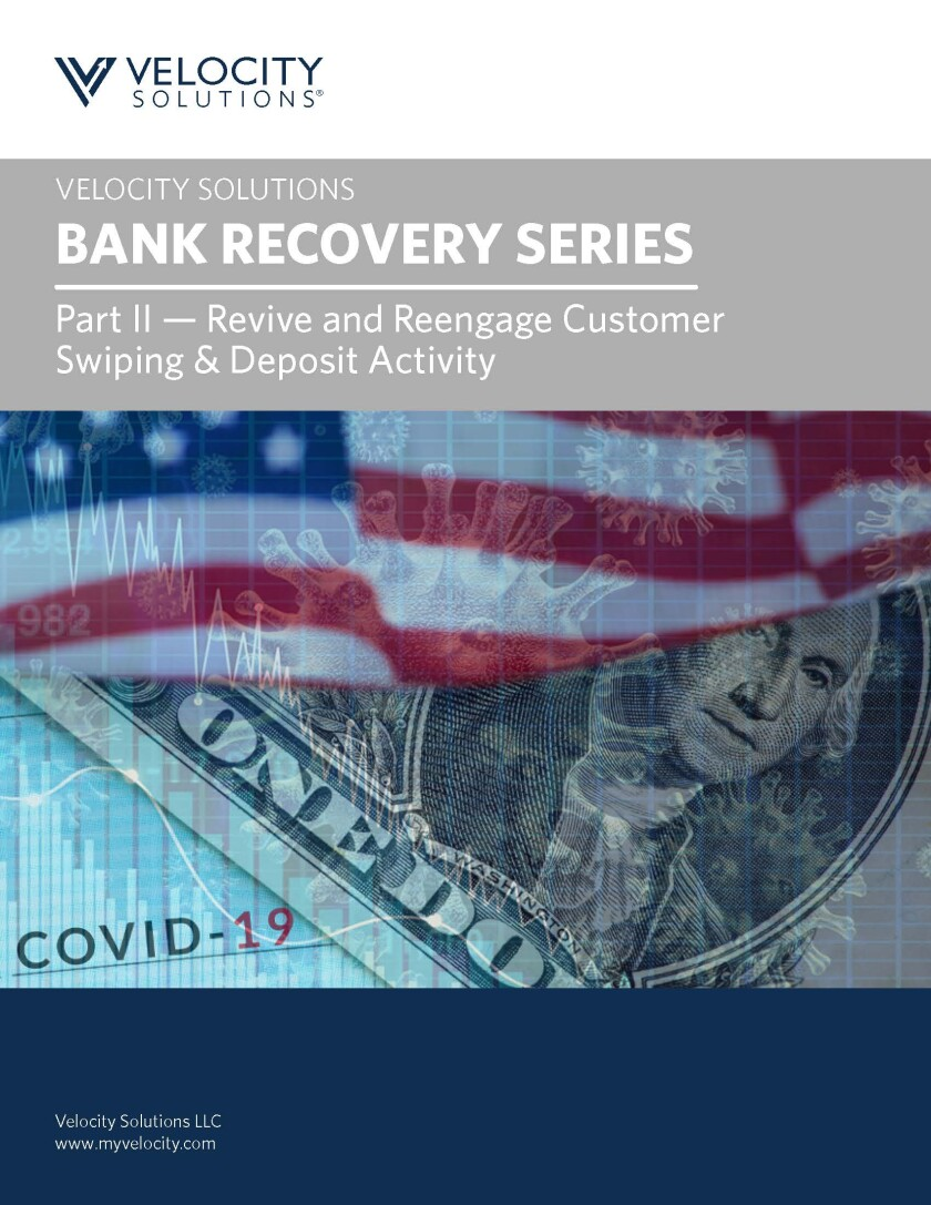 Velocity Solutions Bank Recovery Part II