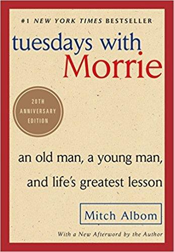 Summer 2018 - Book List - Tuesdays with Morrie