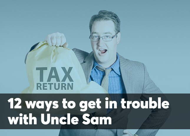 Tax return refund bag