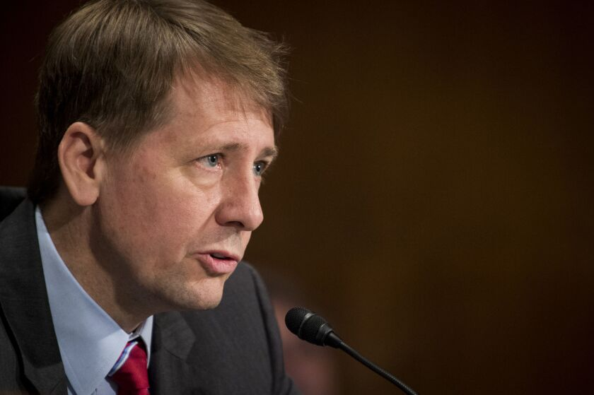 """It made sense to prepare a lawsuit to contest a firing,"" former CFPB Director Richard Cordray writes. ""We didn't know on what grounds a firing would occur, so we had to plan for all contingencies."""