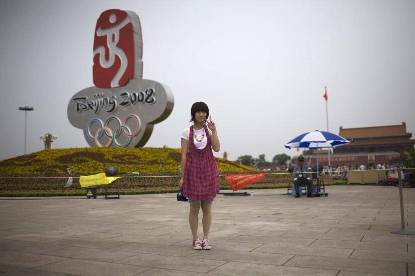 2008 Beijing Olympics tourist