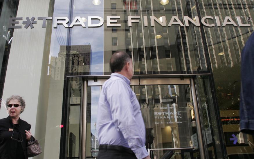E-Trade building exterior