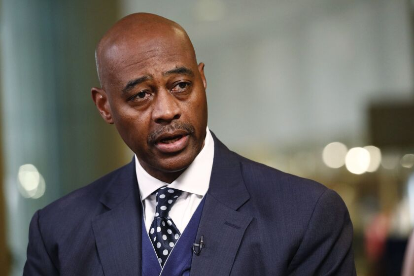 """""""I'm considering running for mayor because the same old political solutions and approaches aren't big enough to solve today's problems,"""" said Citi's Ray McGuire."""