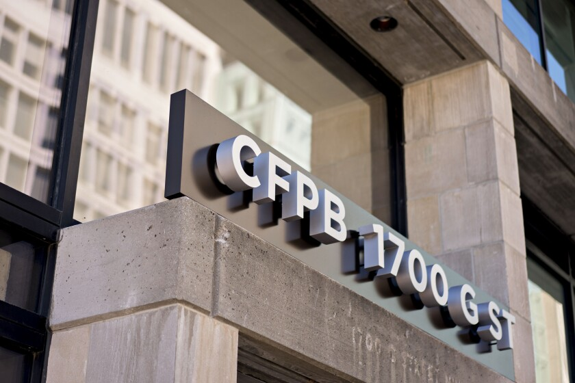 "The CFPB released an approved template for banks to use in seeking a CFPB ""no-action letter"" — designed to allow companies to develop products without fear of supervisory action — to offer installment loans."