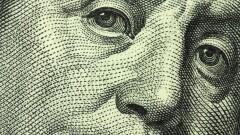 Close-up hundred dollar bill