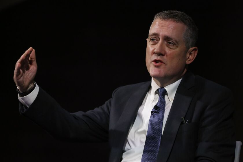James Bullard, president and chief executive officer of the Federal Reserve Bank of St. Louis.