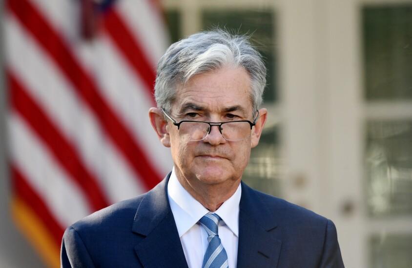 Fed Chair-designate Jerome Powell