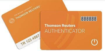 Thomson Reuters Authenticator Cards
