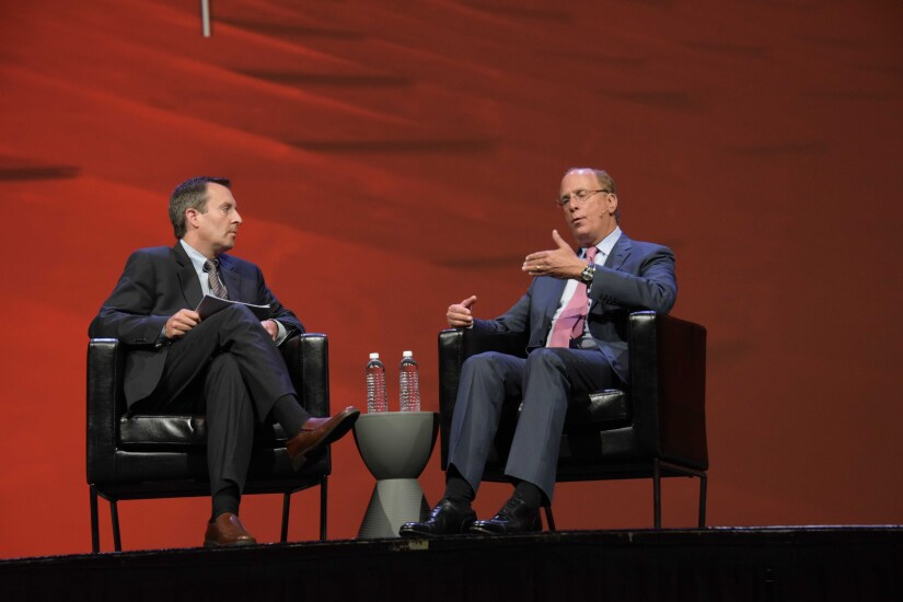 BlackRock CEO Larry Fink Morningstar investment conference Wyckoff-Tweedie Photography April 2017