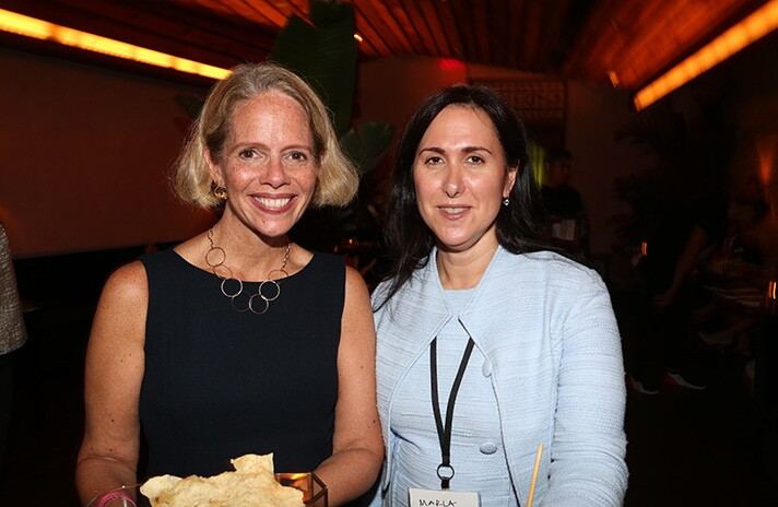 Suzanne Kliegerman and Marla Willner of TD Bank.