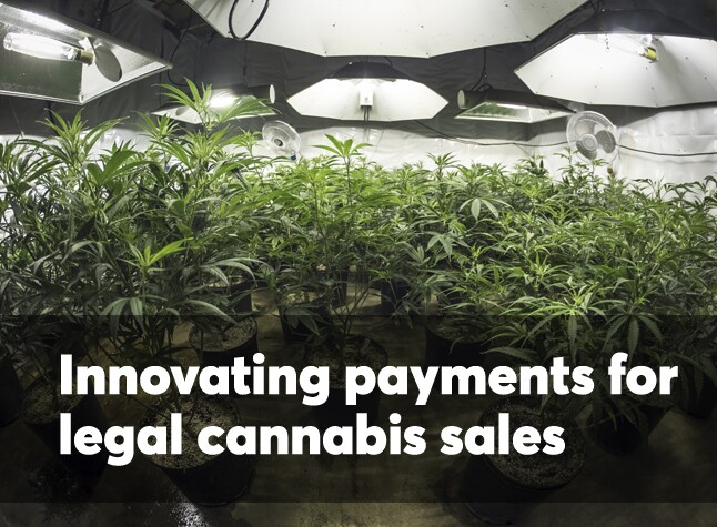 Innovations for legal cannabis payments