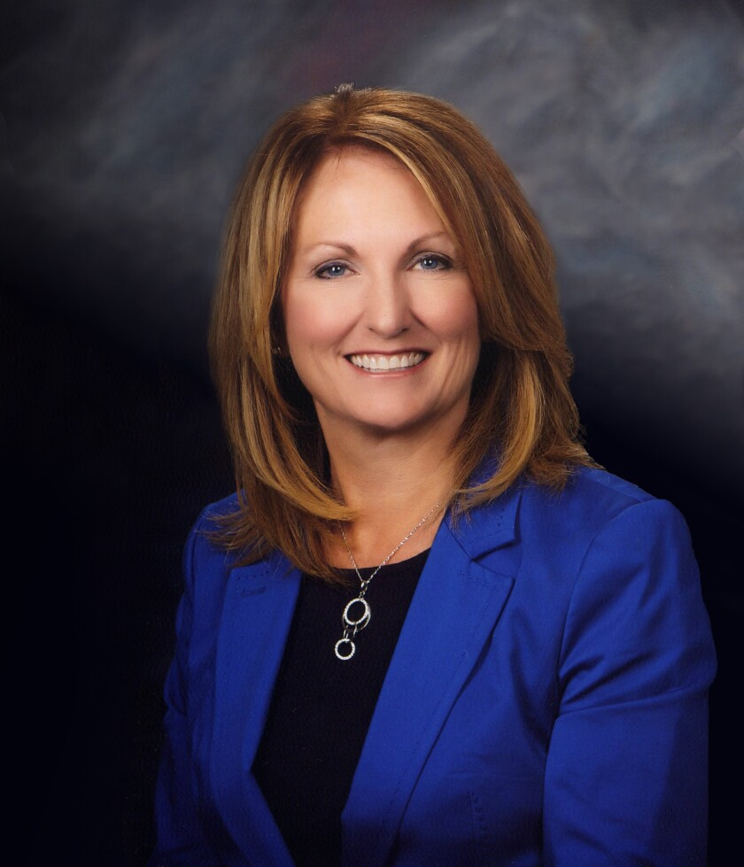 Gail DeBoer, retiring president and CEO of Cobalt Credit Union