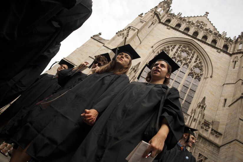 College Students.Bloomberg