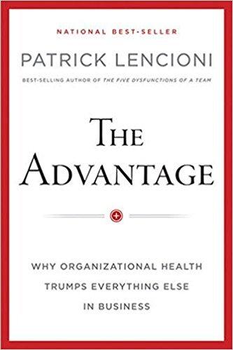 Book cover - The Advantage