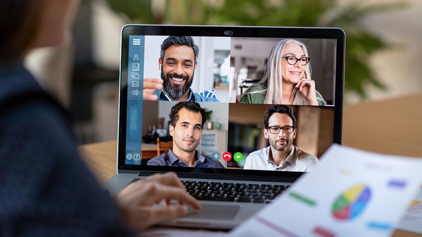 Videoconferencing image