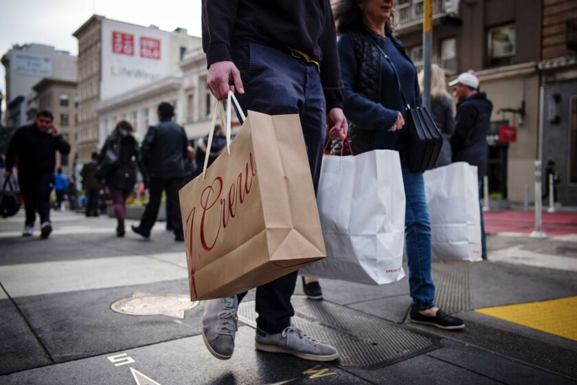 Retail shopping; J. Crew
