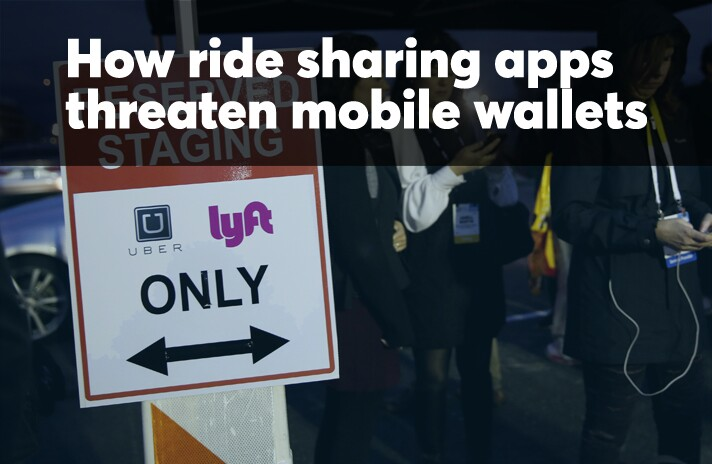 How ride sharing apps threaten mobile wallets