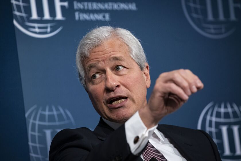 JPMorgan Chase CEO Jamie Dimon said that roughly 33% of homeowners who asked for forbearance on mortgages didn't use it.