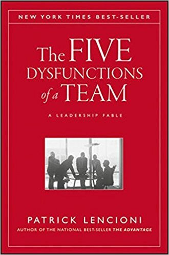 Book cover - 5 Dysfunctions of a Team