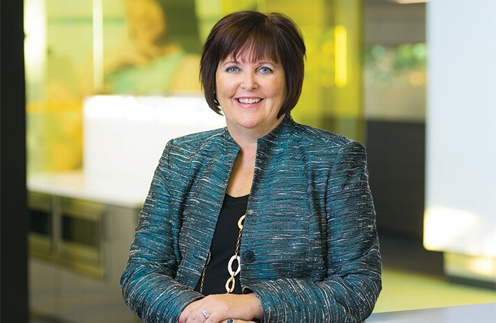 Margaret Keane, President and CEO of Synchrony Financial.