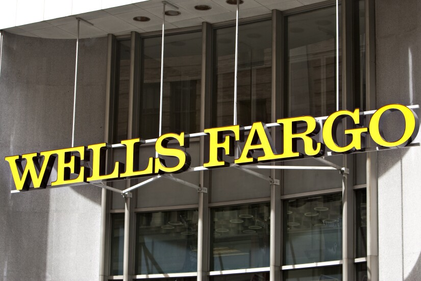 Wells Fargo sign