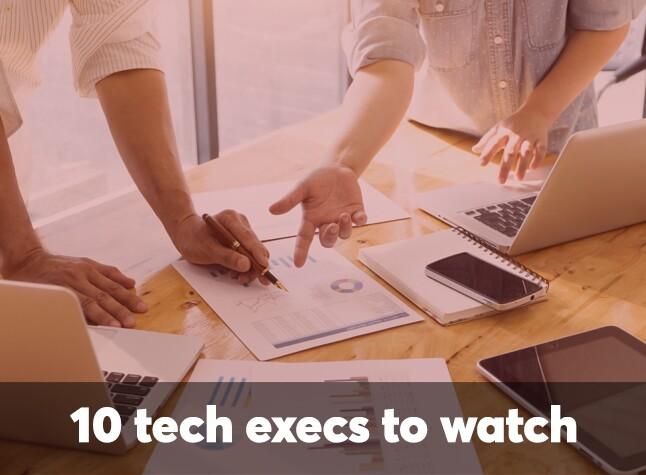 10 tech execs