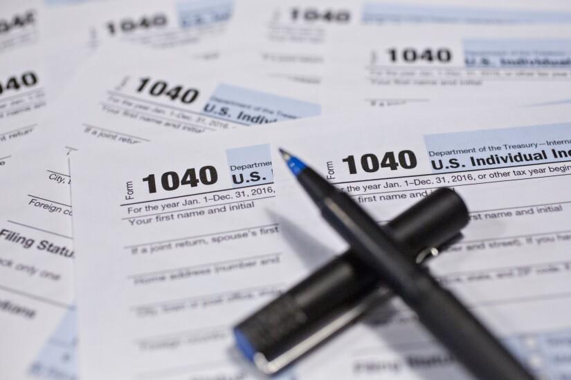 tax planning-1040-IRS