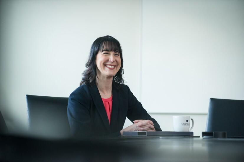 Meg Sheil-Puopolo Verdence Capital financial advisor sitting photo