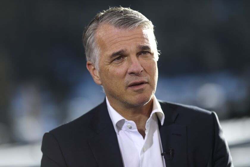 It's especially difficult for banks to create and sustain cohesiveness and a culture when employees stay at home, UBS CEO Sergio Ermotti said at a Bank of America conference on Tuesday.