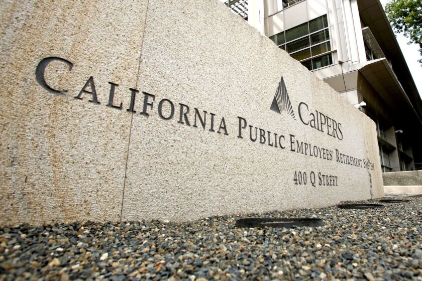 The California Public Employees' Retirement System is among the U.S. institutions that are ratcheting down return expectations amid negative yields.