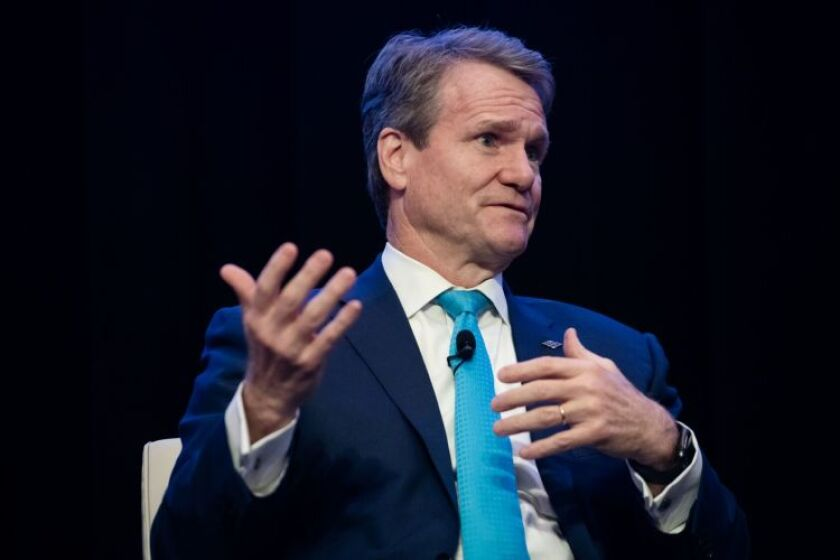 Brian Moynihan, chairman and CEO of Bank of America