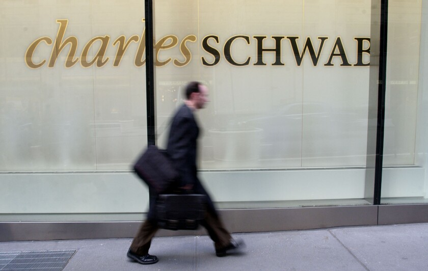 Charles Schwab by Bloomberg News