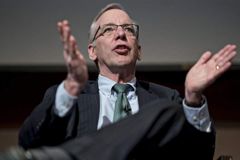 Former New York Federal Reserve Bank President William Dudley