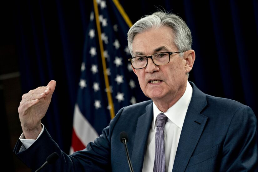 Federal Reserve Chairman Jerome Powell Holds News Conference After Rate Cut