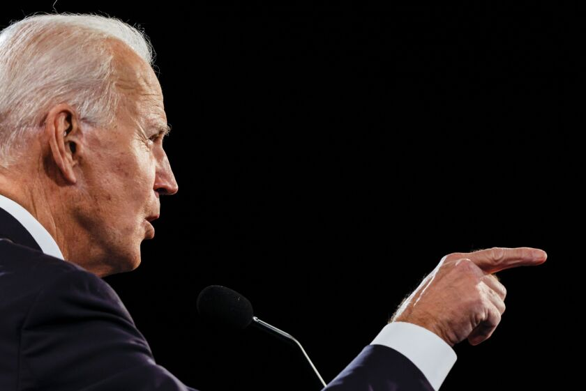Former Vice President Joe Biden, who has a more moderate record on financial services policy than Sanders and Democratic Sen. Elizabeth Warren, has expressed general support for the concept of using the post office as a way to deliver affordable banking services.