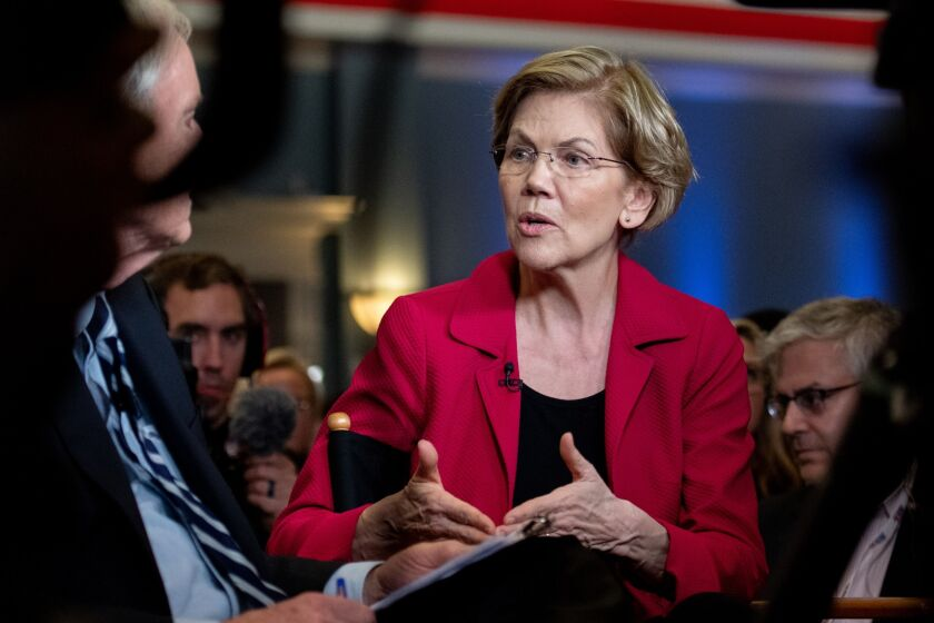 The letter from Senate Banking Committee members Elizabeth Warren, D-Mass., and Sherrod Brown, D-Ohio, noted that auto loan debt is the second largest category of non-housing debt behind student loans.