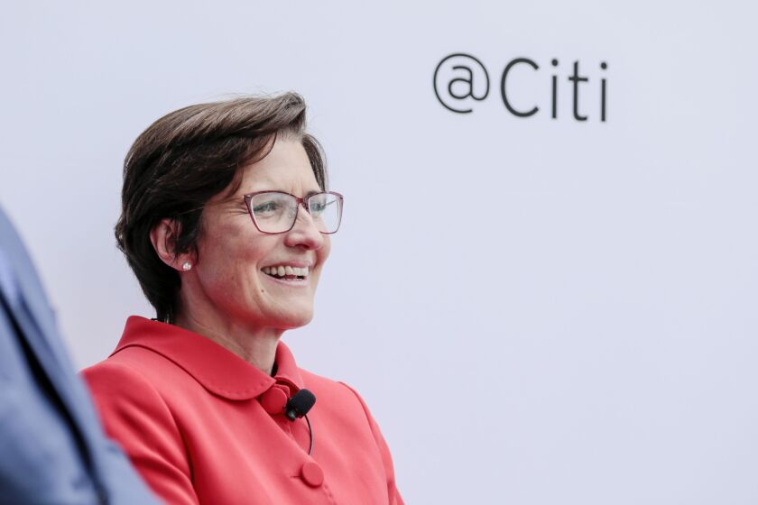 Jane Fraser, a 53-year-old Scot, joined Citigroup in 2004 after a decade as a McKinsey consultant.