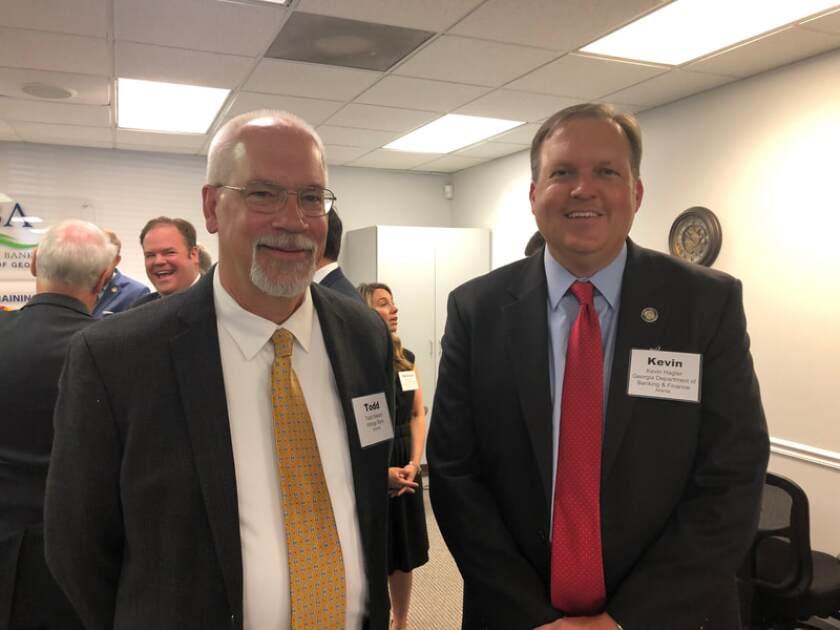 Kevin Hagler, Georgia banking commissioner.